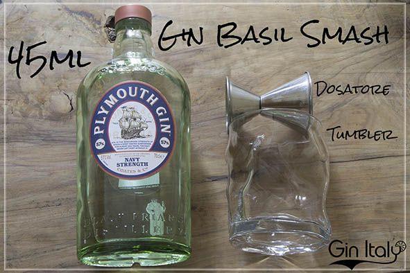 5 Gin Basil Smash