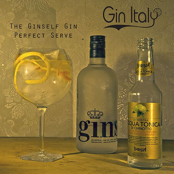 GinSelf Gin Perfect Serve