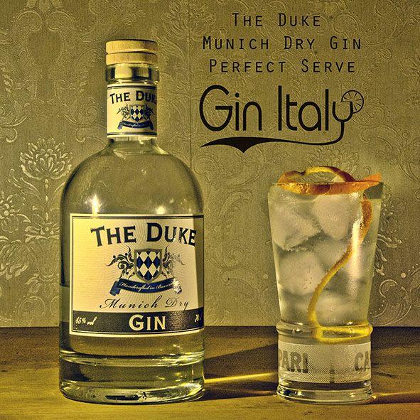 The Duke Gin Perfect Serve