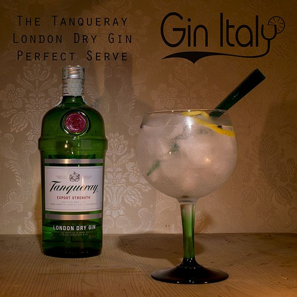 Tanqueray London Dry Gin Perfect Serve