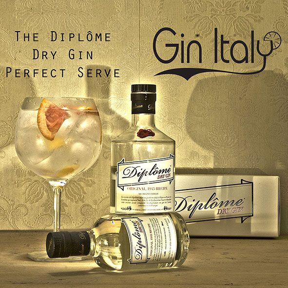 Diplome Gin Perfect Serve