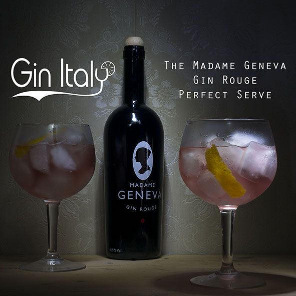 Madame Geneva Gin Rouge Perfect Serve