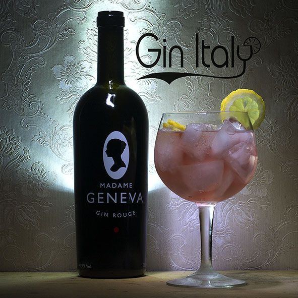 Madame Geneva Rouge Gin Tonic