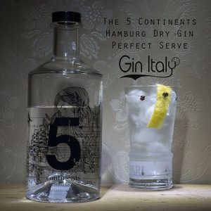 5 Continents Gin Perfect Serve