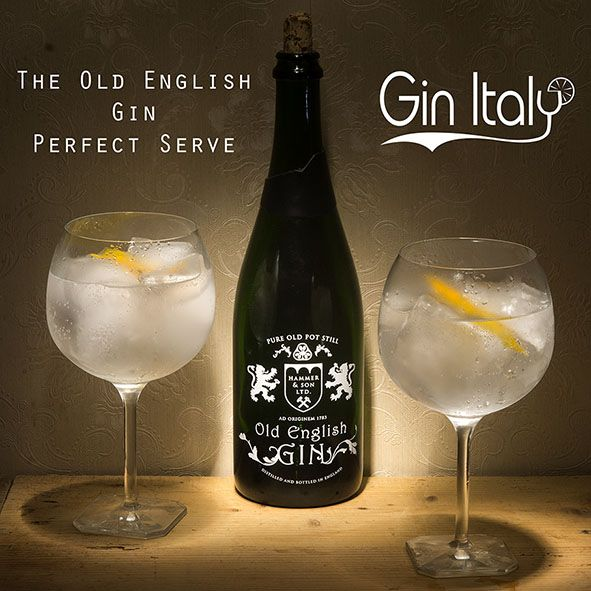 Old English Gin Perfect Serve
