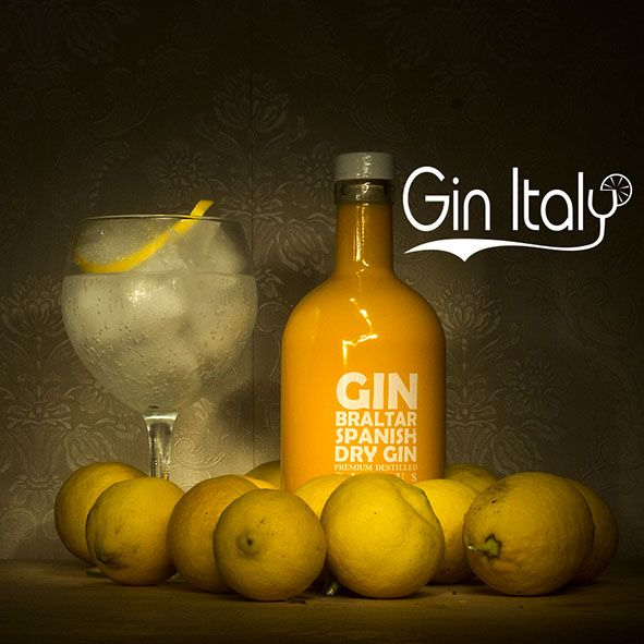 Ginbraltar Spanish Dry Gin Citrus gintonico