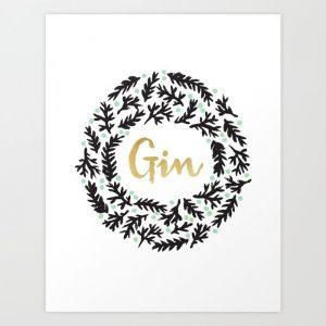 gin-bw-prints