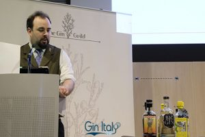 David T Smith Spirit Author and Gin Judge from SummerfruitCup Ginposium 2017 Gin Italy