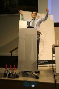 Nicholas Cook Director General The Gin Guild Ginposium 2017 Gin Italy